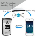 eBELL HD Wi-Fi Video Doorbell w/ Full Duplex Audio - Silver (EU Plug)