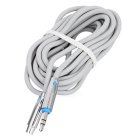 Cable Philips SWA5012A / 93 AUX del coche de 3,5 mm de extensión de audio - Gris (1m)