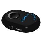 Car  NFC Bluetooth Hands-free 3.5mm Audio Receiver - Black