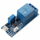 Wide Voltage 5V~30V Trigger Delay Relay Module Timer Module - Blue