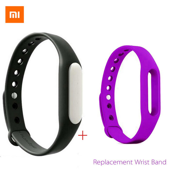 Xiaomi Miband BT Smart Bracelet Watch Sleep & Sport Tracker - Purple