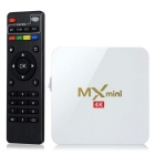 MX Mini 4K S905 TV Box w/ 1GB Memory, 8GB ROM, Power Switch - White