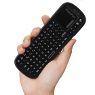 iPazzPort Mini Wireless Keyboard Air Mouse Touchpad - Black