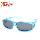 Panlees DE502 Unisex UV400 Protection Polarized Sunglasses - Blue