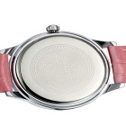 SKONE Women's Shell Dial Watch with Working Sub-Dial - Red + White