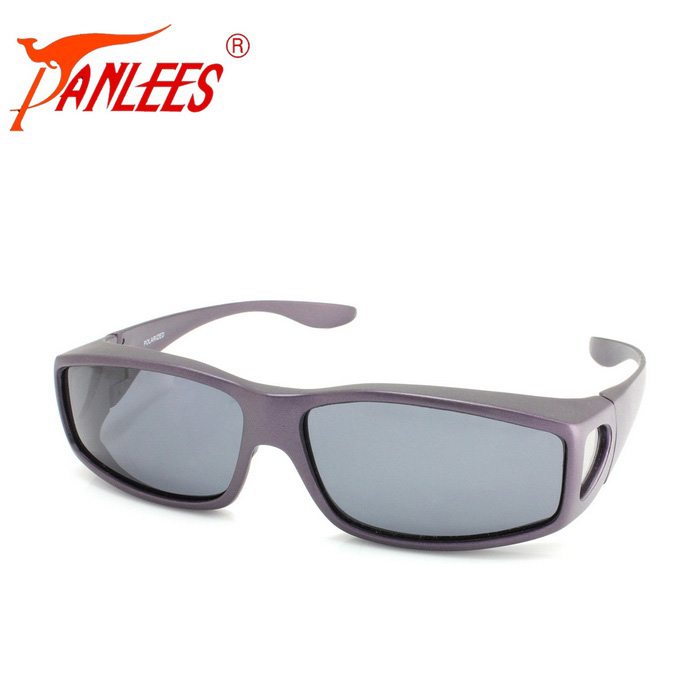 Panlees DE502 Unisex UV400 Protection Polarized Sunglasses - Purple