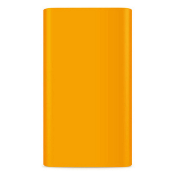 Protective Silicone Case for Xiaomi 5000mAh Mobile Power Bank - Orange