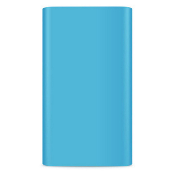 Protective Silicone Case for Xiaomi 5000mAh Mobile Power Bank - Blue