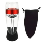 Destacável Decanter Wine Aerator - Red + Transparente