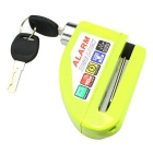 IZTOSS L1003G 6mm Motorcycle Waterproof Alarm Lock Disc-Lock - Green