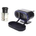 IZTOSS Motorcycle 12V 2.1A Dual USB Cigarette Lighter Socket Charger