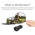 Mirascreen kabellos wi-fi 1080p audio / video display empfänger - schwarz