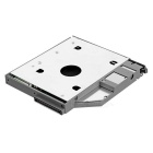 SATA 2nd HDD Hard Driver Caddy for Dell Latitude D600 D610 - Grey