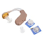 Wireless Earhook Hearing Aid - Light Brown (1 * AG13)