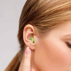NatureHike Noise Reduction Sound Insulation Mute Earplugs - Green