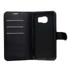 Lichee Pattern Protective Case for Samsung Galaxy S7 Edge - Black