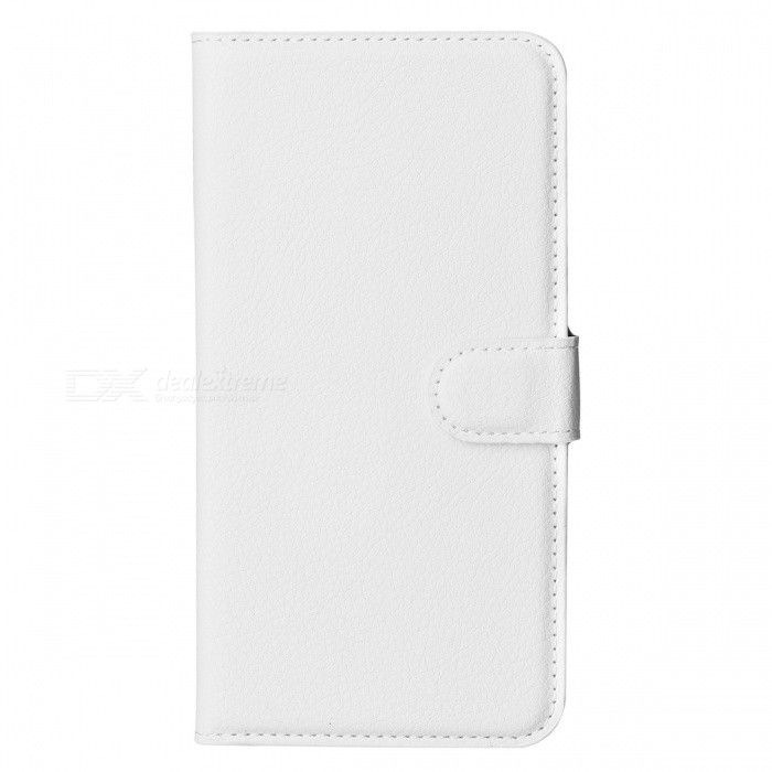 Lichee Pattern Protective Case for Samsung Galaxy Note 4 - White