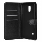 Lichee Pattern Protective Case for Samsung Galaxy Note 4 - Black