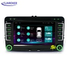 "Funrover LS001 7"" HD Android Car DVD Player for Skoda - Black"