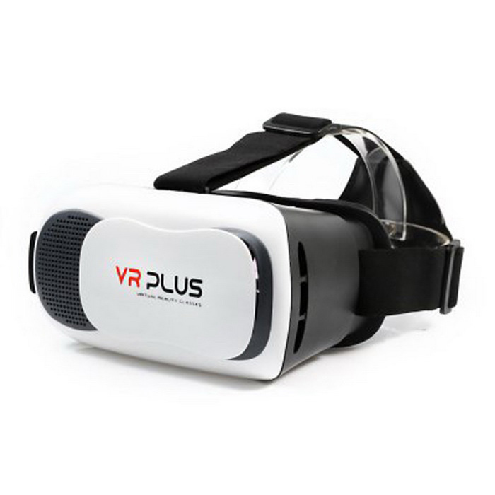 VR Plus 3D Virtual Reality Glasses - White + Black3D Glasses<br>Form  ColorWhite + BlackMaterialABSQuantity1 DX.PCM.Model.AttributeModel.UnitShade Of ColorWhiteTypePolarizedPowered ByPower FreeBattery Life- DX.PCM.Model.AttributeModel.UnitOther FeaturesSuitable for 4.5 to 6 inch mobile phone usePacking List1 * 3D glasses1 * English &amp; Chinese user manual<br>