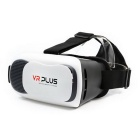 VR Plus 3D Virtual Reality Glasses - White + Black