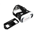 VR plus gafas de realidad virtual 3D - blanco + negro