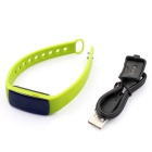 "ZS107 0,49 ""OLED Bluetooth relógio inteligente w / Heart Rate Monitor - Green"