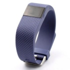 "TW64S 0.49"" Smart Bracelet w/ Pedometer, Heart Rate Monitor - Purple"