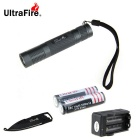 Ultrafire XM-L2 U2 5-Mode 889lm Cool White Flashlight - Grey