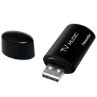 Wireless Portable USB Bluetooth Stereo Audio Transmitter - Black