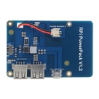 Lithium Battery Expansion Board for Raspberry Pi - Blue + White