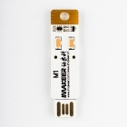 IMAKEER M1 Lighting Card Reader w/TF/Micro SD(Max.2TB) LED Warm White