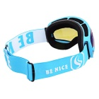 BE NICE SNOW3100 Anti-Fog Spherical Lens Skiing Goggles - Blue