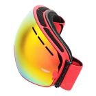 BE NICE SNOW3100 Anti-Fog Spherical Lens Skiing Goggles - Red