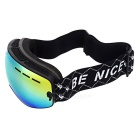 BE NICE SNOW4300 Children's Anti-Fog Skiing Goggles - Black