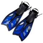 High-grade Adjustable PE Swimming Feet Fins for Adults - Blue