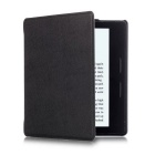 Protective PU Case w/ Auto Sleep for Amazon Kindle Oasis - Black