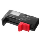 BT-168D AA / AAA Rechargeable Battery Tester - Black + Red
