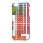 Periodic Table of The Elements Patternt TPU Back Case for IPHONE 6/6S