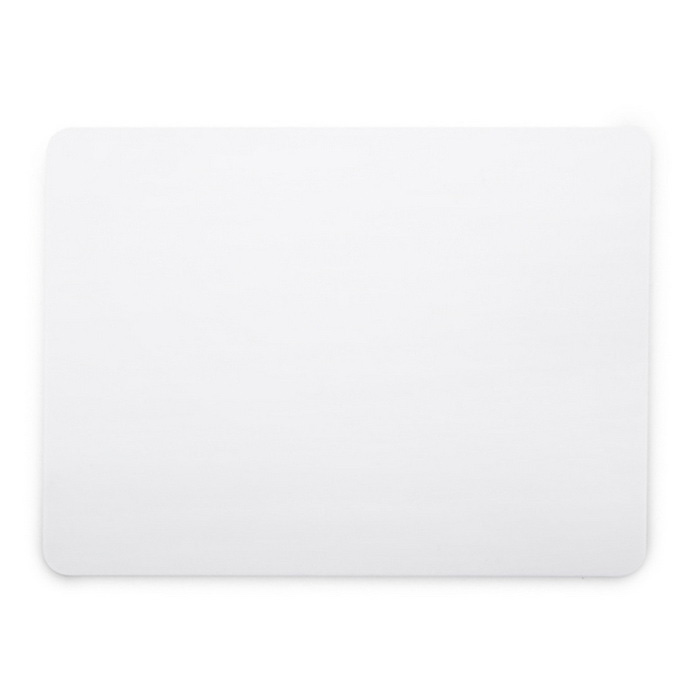 Rectangle Mouse Pad Mat Computer Mousepad - White