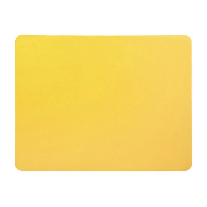 Rectangle Mouse Pad Mat Computer Mousepad - Yellow