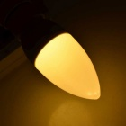 E14 3W 250lm Warm White Light 10-2835 SMD LED Candle Bulb (220V)
