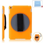 Protective Hand Strap Holder Case for IPAD MINI 4 - Translucent Orange