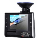 2.7 Inch TFT Novatek 1080P HD Car DVR Camera  Recorder - Black