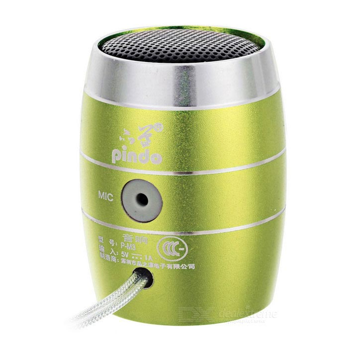 PINDO PD P-M3 Children's Bluetooth Speaker w/ TF Card Slot - Green