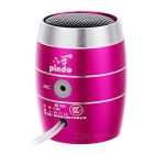 PINDO PD P-M3 Kinder Bluetooth Lautsprecher mit TF Card Slot - Deep Pink