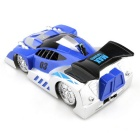 JJRC Q1 Rechargeable 4-CH RC Wall Climbing Climber Car Toy - Blue