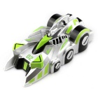 JJRC Q4 Rechargeable 4-CH RC Wall Climbing Climber Car Toy - Green