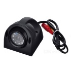 HD Waterproof Camera 10 LED retrovisor w / Night Vision - Black