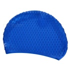 Unisex Water Drop Particles Swimming Hat - Blue